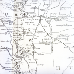 Figure 2: Detail from Benjamin Donn, A Map of the County of Devon 1765, ed. by W. L. D. Ravenhill (London: Percy Lund, Humphries & Co. Ltd., 1965)